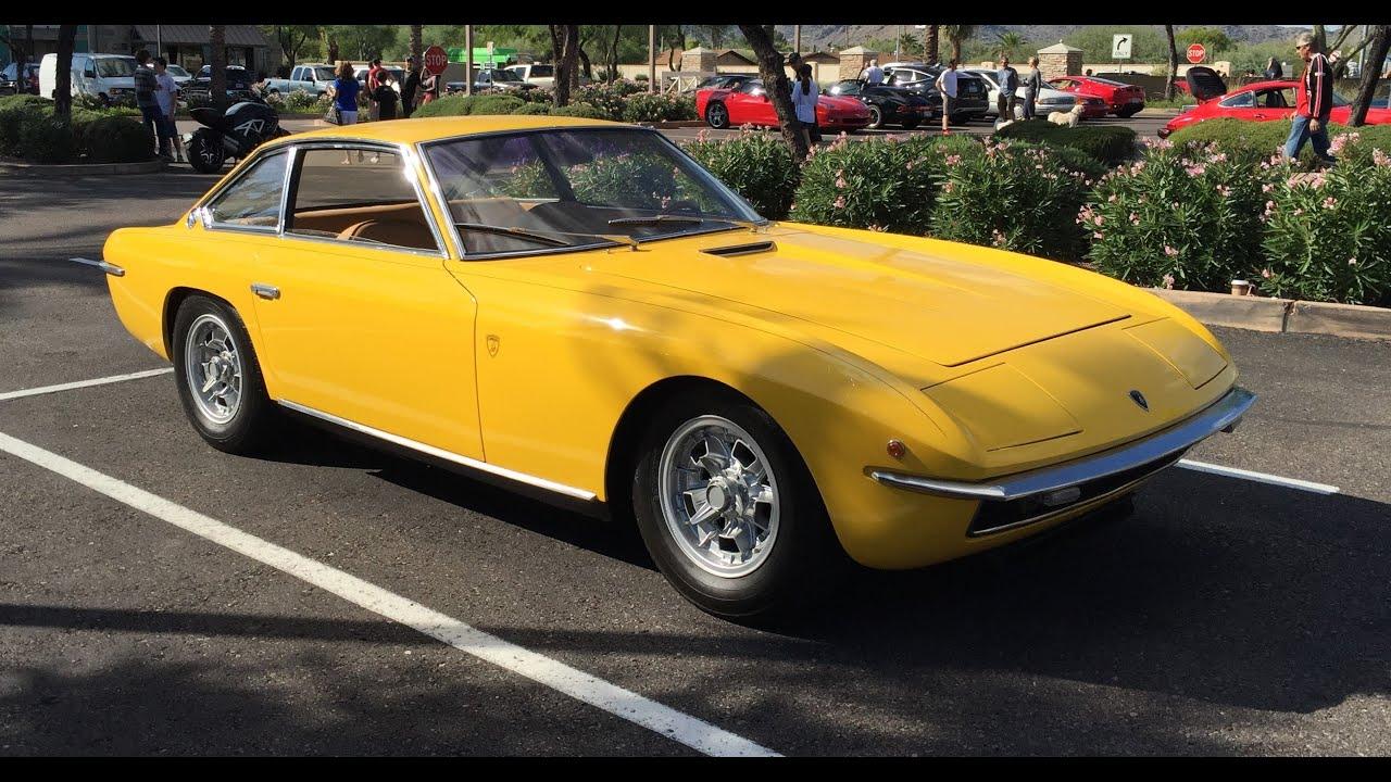 1969 Lamborghini Islero At Cars And Coffee Scottsdale Youtube