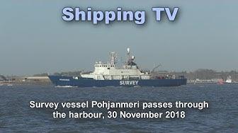 Pohjanmeri sails, 30 November 18