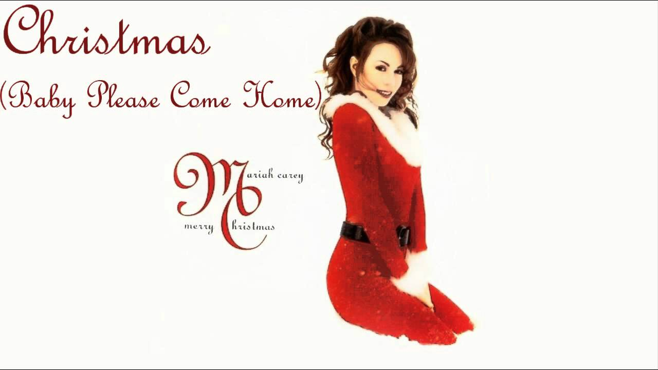 Youtube Mariah Carey Christmas.Christmas Baby Please Come Home Karaoke Mariah Carey Style