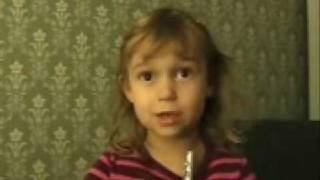 """Frida sings """"Kender I den om Rudolf"""""""