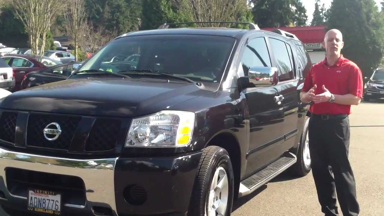 2004 nissan armada reviews