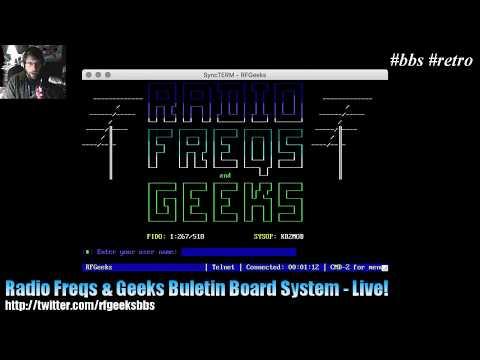 Radio Freqs & Geeks BBS - Live!