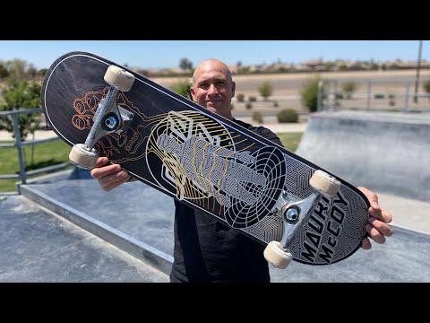 8.25 MAURIO MCCOY VX DECK PRODUCT CHALLENGE w/ ANDREW CANNON! | Santa Cruz Skateboards