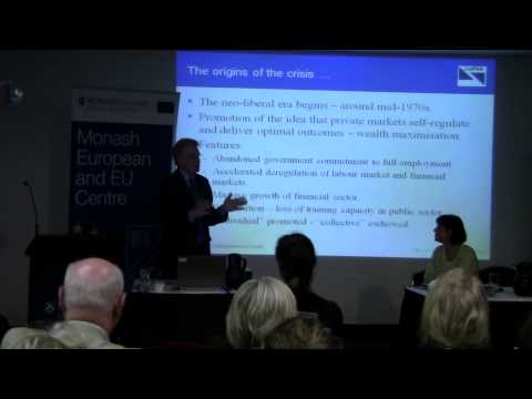 Can the Eurozone survive its Crisis? Prof Bill Mitchell Part 1