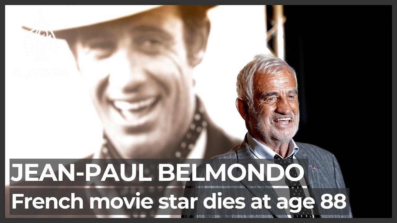 Jean-Paul Belmondo, star of 'Breathless,' dies at 88