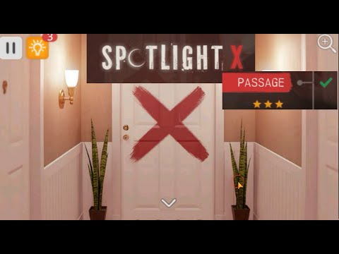 Spotlight X Room Escape  - Passage - Level 4 Walkthrough.