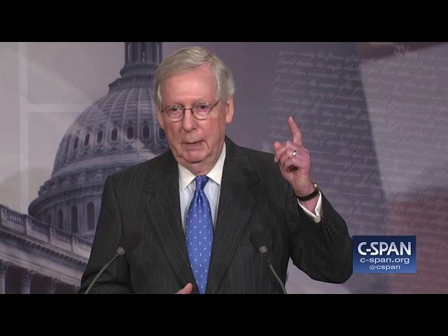 Sen. McConnell on Presidential Harassment (C-SPAN)
