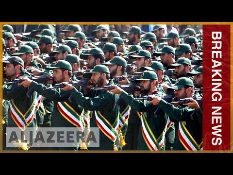 🇺🇸🇮🇷 US labels Iran's elite Revolutionary Guard Corps a 'terror group' | Al Jazeera English