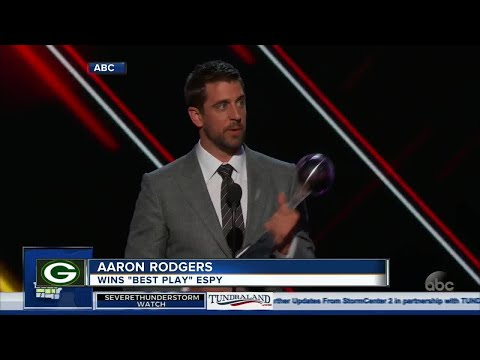 Several Packers players take home three ESPY awards