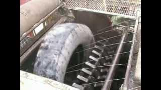 PRECIMECA Scrap Tire shredder 15-02-50 / Broyeur de pneus PRECIMECA 15-02-50