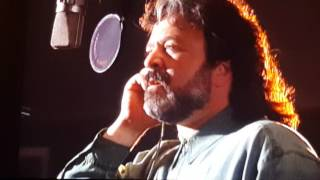 Jim Cummings Recording the Voice of Hyena Ed from Disney's Lion King