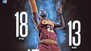 LeBron James 48th Triple Double of Career! Knicks vs Cavs