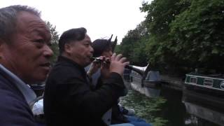 "Zhou Family Band from China performs on London's Regent's Canal ""A ..."