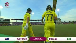 Australia v Ireland - Women's World T20 2018 highlights