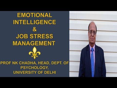 EMOTIONAL INTELLIGENCE AND JOB STRESS MANAGEMENT