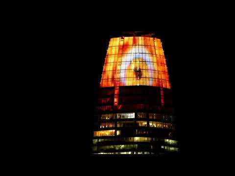 Salesforce tower becomes the Eye of Sauron
