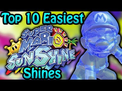 Top 10 Easiest Super Mario Sunshine Shines