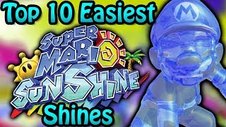 Top 10 Easiest Super Mario Sunshine Shines