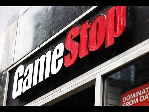 Markets under pressure, but Gamestop is up 133%, traders also eye AMC, Blackberry and Blockbuster