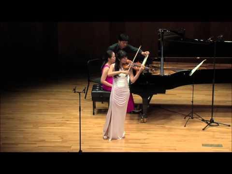 So-Ock Kim (piano. Grace Yeo) _ Ravel Tzigane(1924)