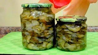 Салат  из Огурцов на Зиму . Шикарный на Вкус . Salad recipe for preservation