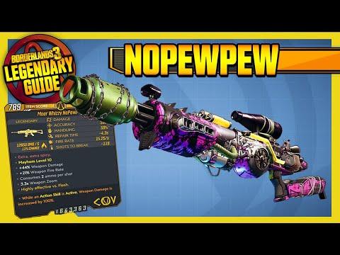 Borderlands 3 | NoPewPew | Legendary Weapons Guide!!! Revenge of the Cartels