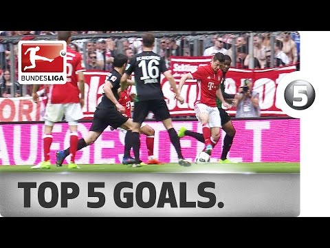 Thiago, Süle and More - Top 5 Goals on Matchday 26