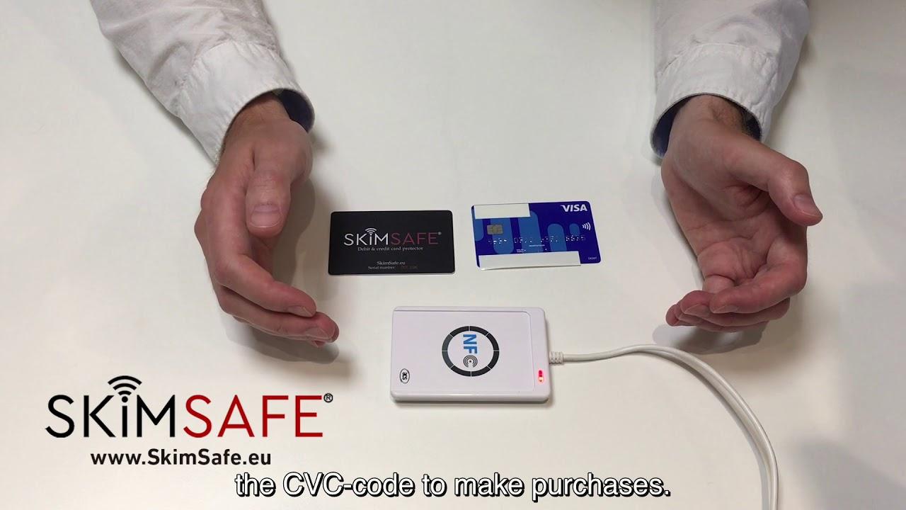 SkimSafe Debit and Credit Card Protector