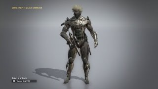 Metal Gear Solid V The Phantom Pain - How to Get Raiden Suit With Showcase and Gameplay