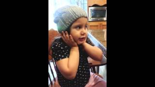 """3 year old Khloe singing to Taylor Swift's """"Blank Space"""""""