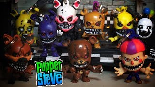 Five Nights at Freddy's Fnaf Collectors Clips SERIES 2 Keychain Blind bag Backpack hangers Unboxing