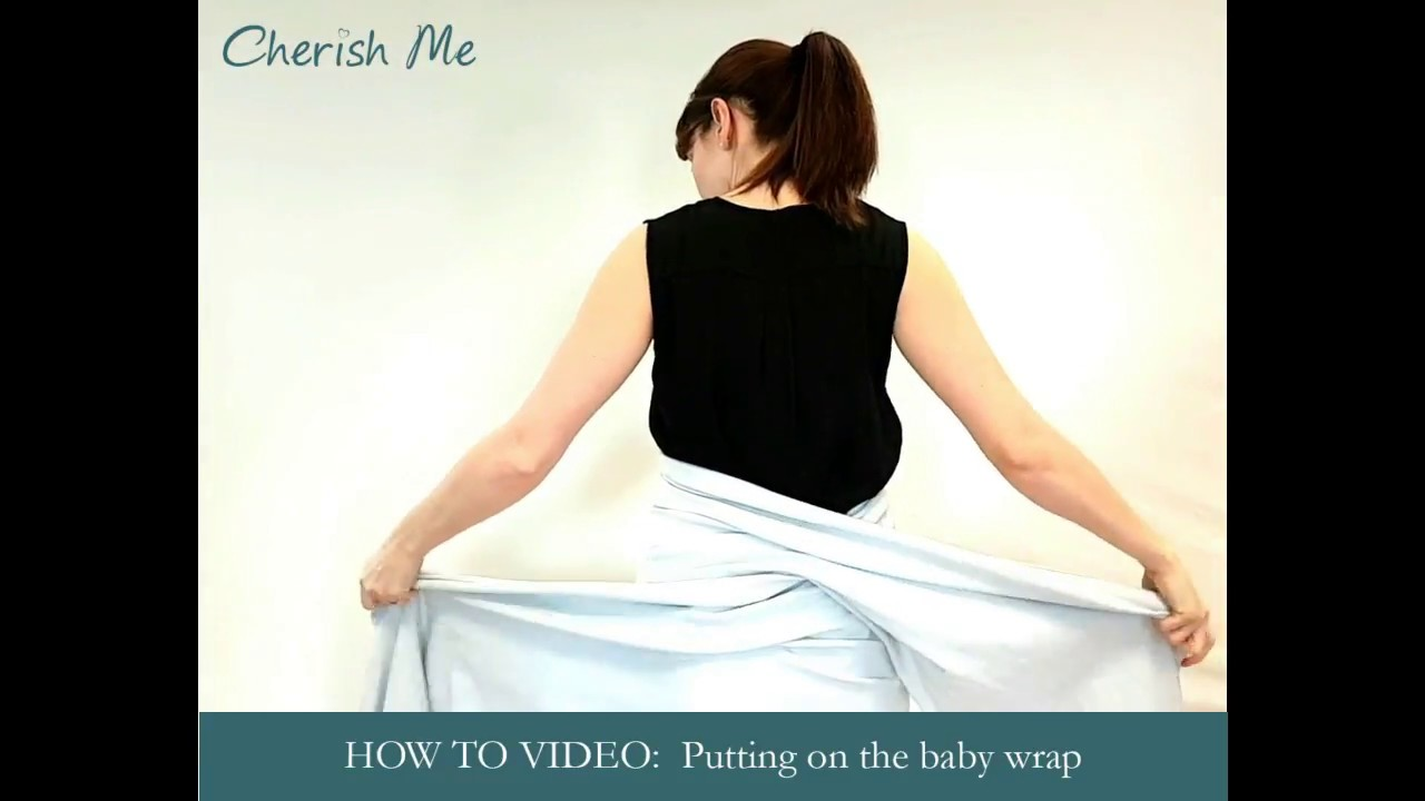 How To Use Your Baby Wrap Sling Youtube