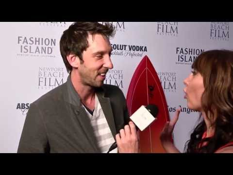 Joel David Moore  2013 Newport Beach Film Festival