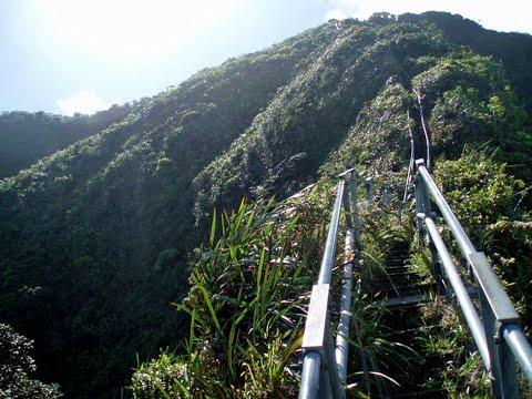 Haiku Stairs History- Stairway to Heaven in Hawaii - HD