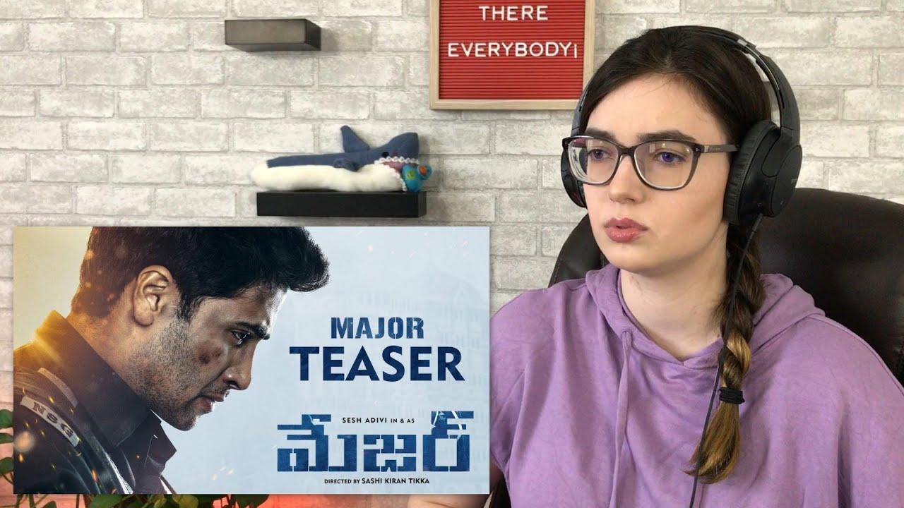 MAJOR Teaser | Adivi Sesh | Sobhita | Saiee Manjrekar | Mahesh Babu | Sashi Tikka | #AlexaReacts