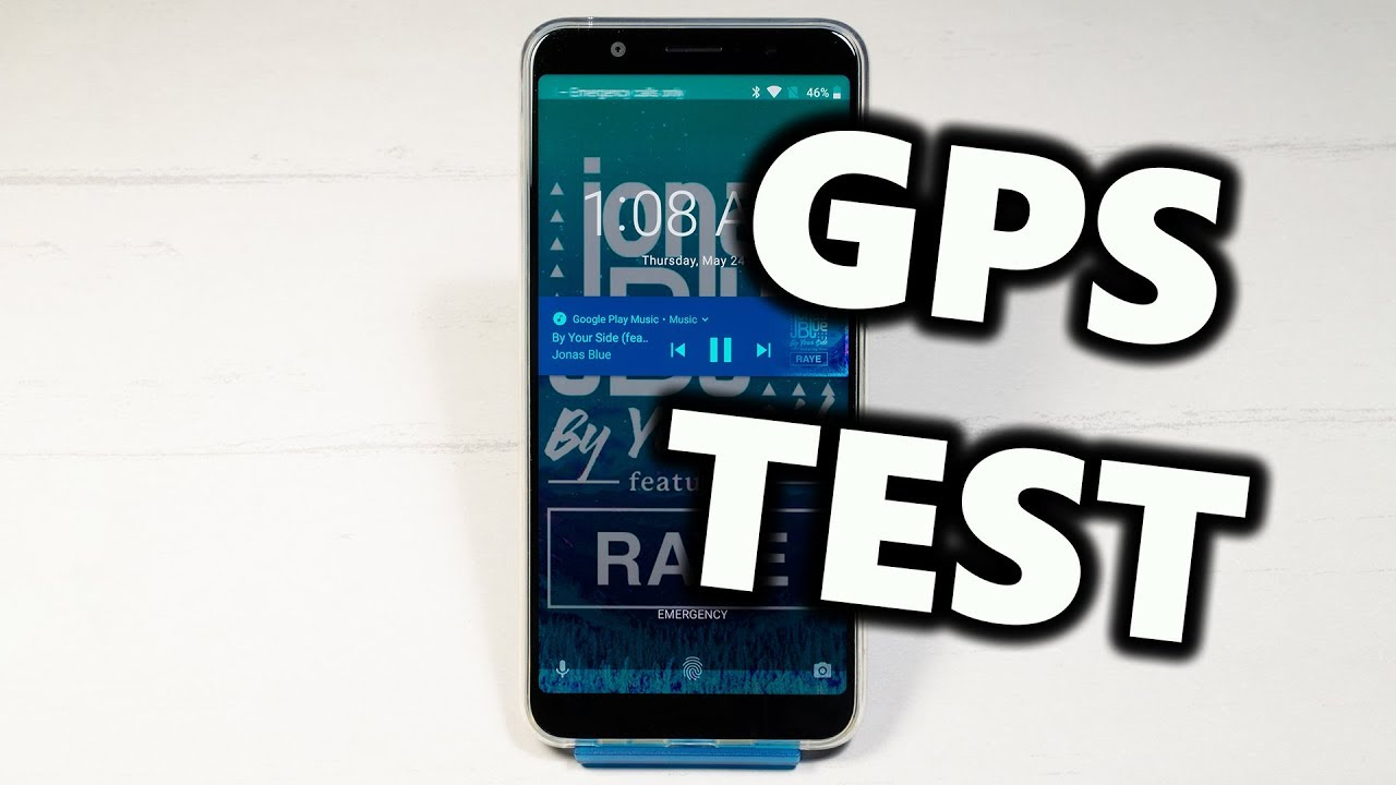 Testing the GPS on ASUS ZenFone Max Pro (M1)