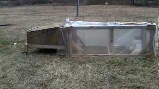 Diy - $50 Chicken Coop Complete - Baby Ducks And Chickens First Day!!!