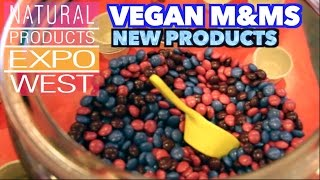 Vegan M&M Candies! Natural Products Expo West Day 1
