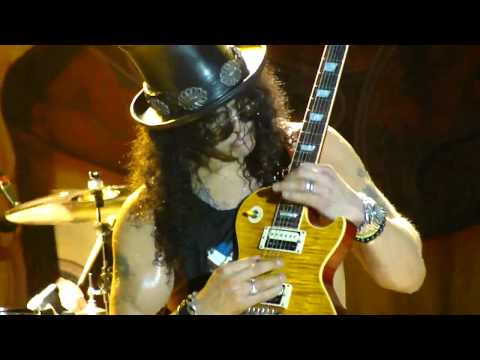 Slash - Godfather Theme and Sweet Child O' Mine (Curitiba Master Hall - 2011)