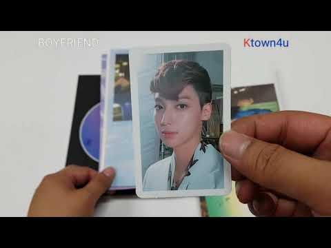 [Ktown4u Unboxing]: Boyfriend - Mini Album Vol.5 [NEVER END] (Night Ver.)