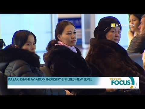 Kazakhstani airline industry enteres new level