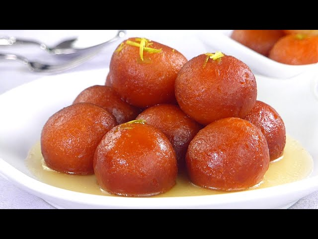 ডিমছাড়া সহজ গোলাপজাম মিষ্টি রেসিপি by ডেজার্ট কর্নার | Dessert Corner Promo, Aysha Siddika Recipe