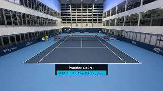 2019 Nitto ATP Finals: Live Stream Practice Court 1 (Tuesday)