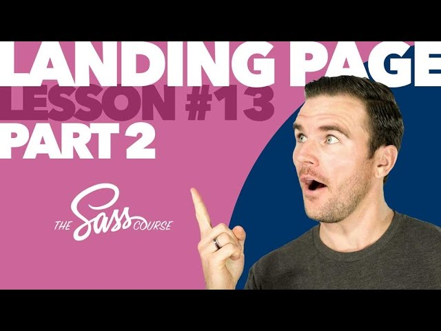 [#13] Style a Portfolio Landing Page, Part 2 (Learn Sass)