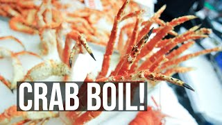 Seafood Boil at The Crab Pot - Seattle Travel Vlogger