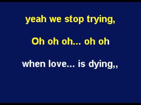 When Love Is Dying - Elton John, Leon Russell Karaoke by Allen Clewell