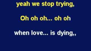 When Love Is Dying - Elton John, Leon Russell Karaoke by Allen Clewell