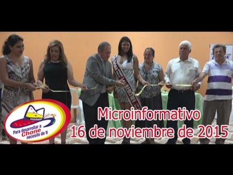 Microinformativo 16 noviembre 2015