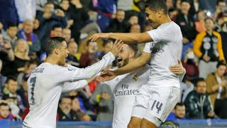 Levante 1-3 Real Madrid | Goles | COPE | 02/03/2016