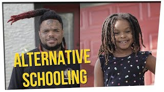 Father Gives Kids Unique Home Schooling ft. Nikki Limo & DavidSoComedy